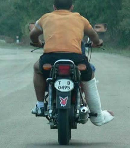 motociclist adevarat